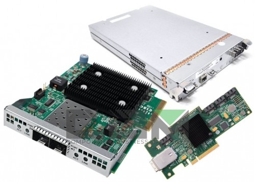 QLA4050-CK Qlogic Single-port 1GbE iSCSI / Network-to-64-bit, 133-MHz PCI-X adapter, multimode optic
