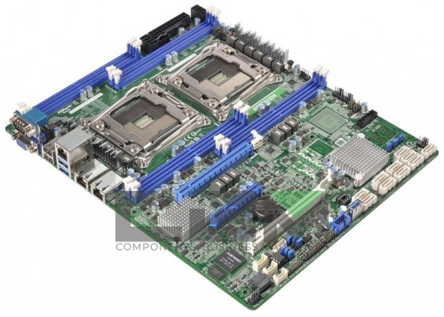 WN213 Материнская Плата Dell Broadcom HT-2100 Quad S-F 12DualDDRII-667 9PCI-E8x 2xGbLAN E-ATX 2000Mhz For PowerEdge 6950