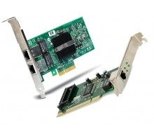 E1G42ET Intel Сетевая карта 10/100/1000M server RJ45 PcIe 4x Dual port Copper