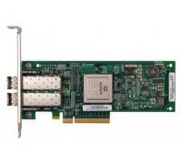 DF976 Сетевой Адаптер Dell (Qlogic) QLE2462-DELL PX2510401 2x4Гбит/сек Dual Port Fiber Channel HBA LP PCI-E4x