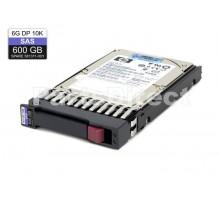 581311-001 Жесткий диск HP 600-GB 6G 10K 2.5 DP SAS HDD