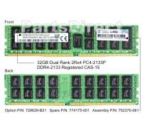728629-B21 Модуль памяти HP 32GB (1x32GB) SDRAM DIMM