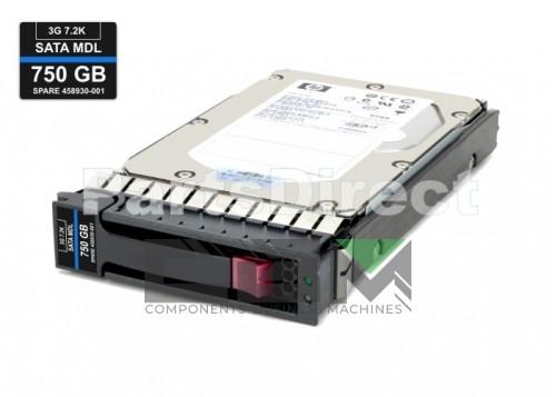 GB0750EAMYB Жесткий диск HP 750-GB 3G 7.2K 3.5 SATA HDD
