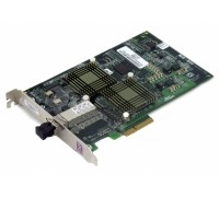 LP1050Ex-E Emulex 2Gb, 64 bit, PCI Express compatible Fibre Channel Adapter with embedded fibre interface with drivers for EMC Connectivity and  LC connector. Mid range HBA with limited buffer credit.