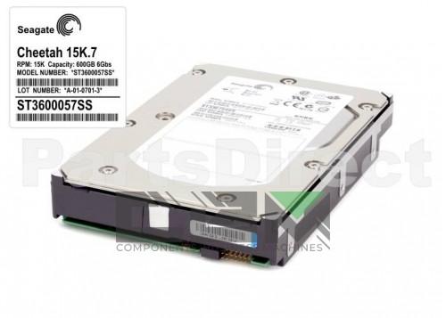 """ST3600057SS Жесткий диск Seagate Cheetah 3,5"""" 15K.7 600GB, SAS 6Gb/s LFF HDD"""