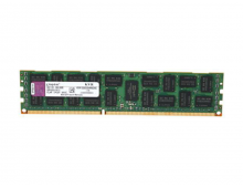 Оперативная память 8GB 1024M x 72-Bit PC3-10600 CL9 Registered w/Parity 240-Pin, KVR1333D3D4R9S/8G