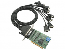 Плата CP-118U w/o Cable MOXA 8 port RS-232/422/485, Universal PCI, 921.6Kbps, surge protectoin