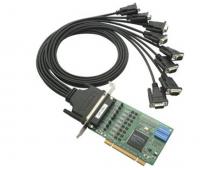 Плата CP-118U w/o Cable MOXA 8 port RS-232/422/485, Universal PCI, 921.6Kbps, surge protectoin