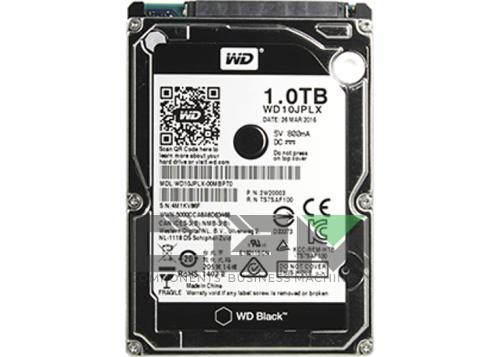 """Жесткий диск Western Digital SATA-III 1Tb WD10JPLX Black (7200rpm) 32Mb 2.5"""", WD10JPLX"""