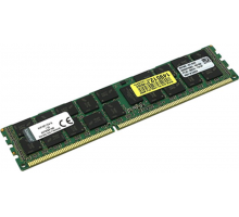 Оперативная память Kingston 16GB PC3-12800 1600MHz CL11 1.5V ECC, KVR16R11D4/16